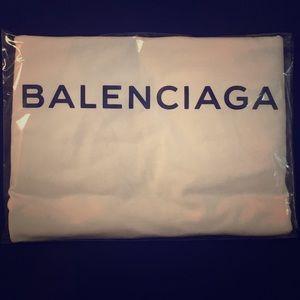 Other - White Balenciaga T Shirt Unisex Various Sizes